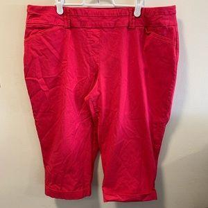 Pennington Savvy Fit Women's Cuffed Capris Pant